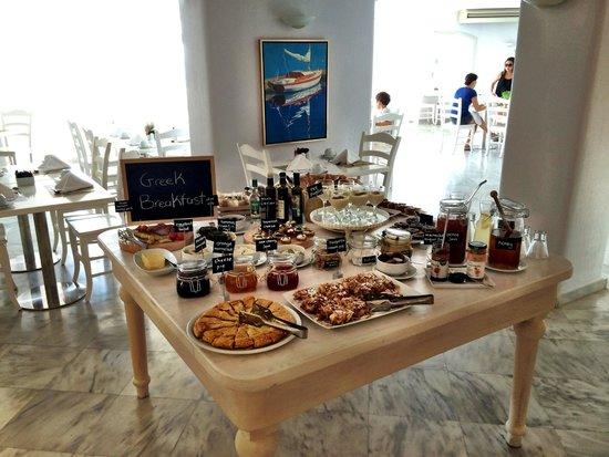 Palladium Boutique Hotel: Breakfast Buffet