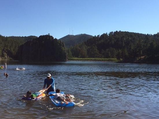Legion Lake: Fun swimming