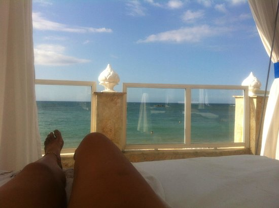 The Tropical at Lifestyle Holidays Vacation Resort: The view from the Cabana