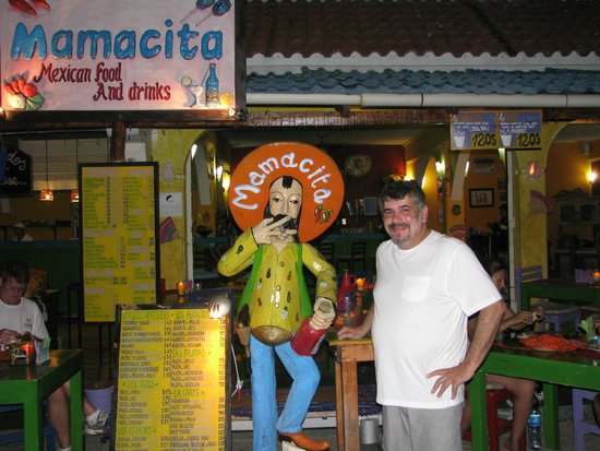 Mamacitas: In front of the restaurant