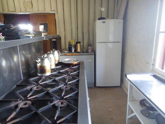 Granite Park Chalet: Chalet Kitchen Stove