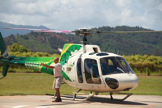 Safari Helicopters: Safari to go