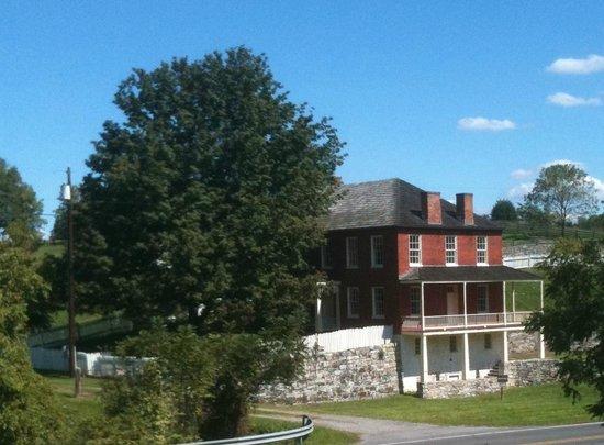 Antietam National Battlefield: Sherrick Farm near Burnside Bridge