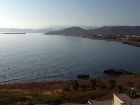 Balos Beach: scattata dal terrazzo di una camera con vista mare
