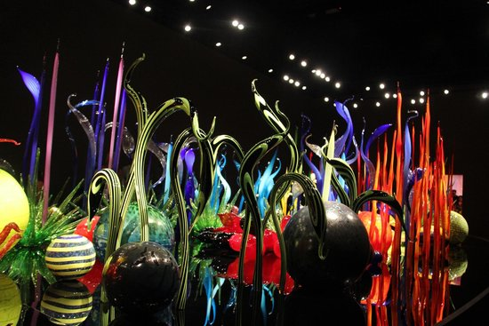Chihuly Garden and Glass: Glasswork