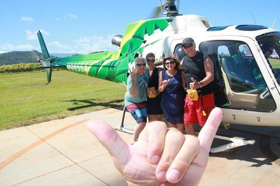 Safari Helicopters: Shaka brah!