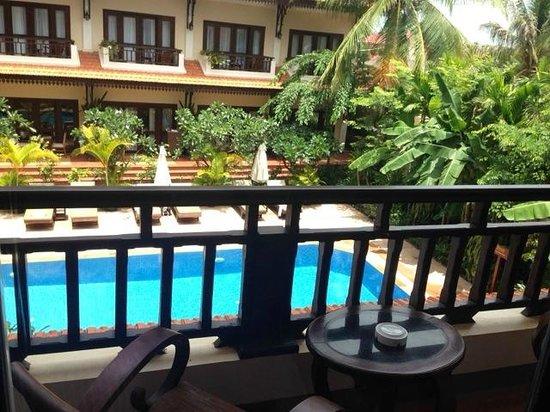 Saem Siemreap Hotel : balcony