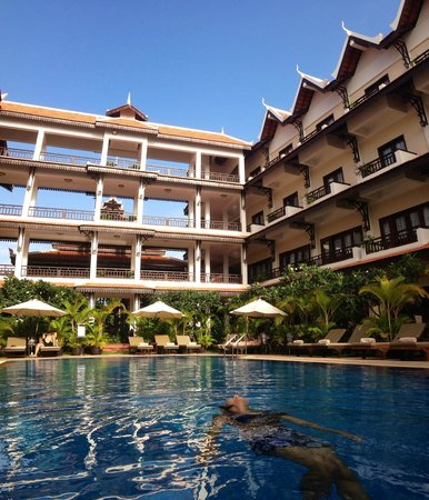 Saem Siemreap Hotel : hotel pool