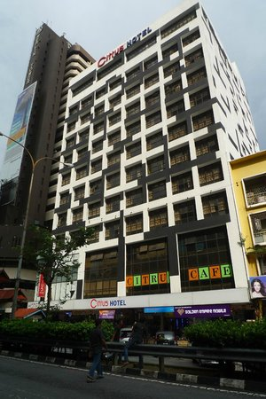 Citrus Hotel Johor Bahru: Outlook of the hotel