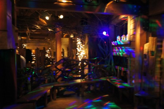 The Treehouse Restaurant at the Alnwick Garden: Evening disco