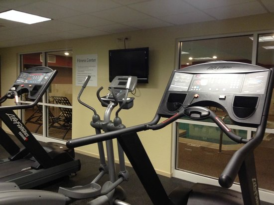Holiday Inn Express Hotel & Suites Chicago-Deerfield/Lincolnshire : gym