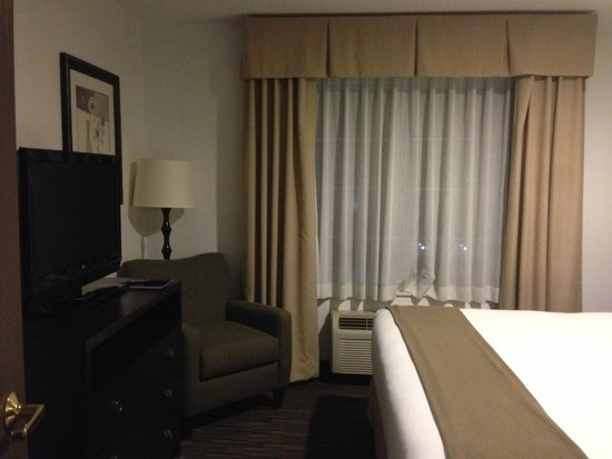 Holiday Inn Express Hotel & Suites Chicago-Deerfield/Lincolnshire : shades
