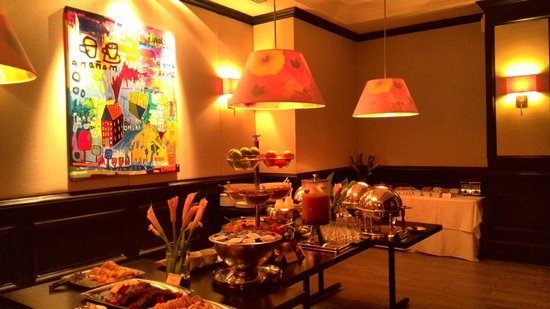 The Bristol Panama Hotel & SPA : breakfast