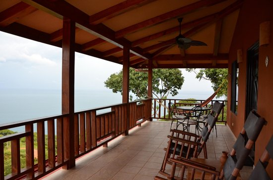 Villas Alturas: Amazing view from patio of villa 1