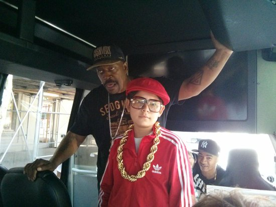 Hush Hip Hop Tours : My son, the b-boy, in full effect