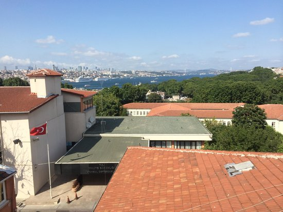 Agora Life Hotel: View from Bosphorous Suite window