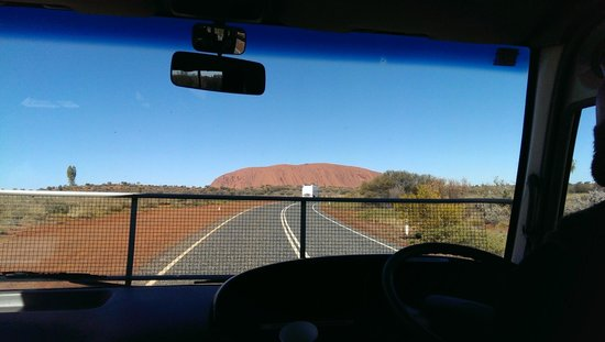 Emu Run Experience - Day Tours: On the road to Uluru, Gangsta's Paradise playing in the back