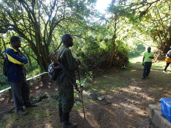 Mgahinga Gorilla National Park: on ourway to the trekking