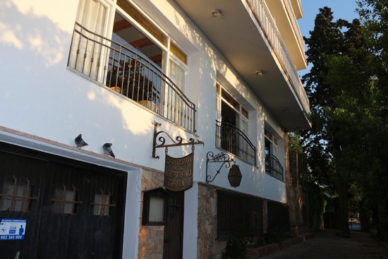 GHT Hotel Neptuno: Вида на лобби с улицы