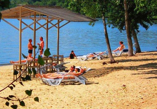 Отдых на пляже - Изображение База отдыха Стрелка, Азов - Tripadvisor