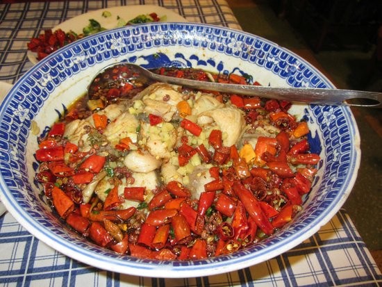 ShangHai DiShuiDong (MaoMing South Road) : Spicy Fish Stew