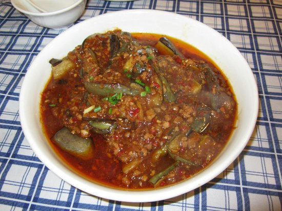 ShangHai DiShuiDong (MaoMing South Road): Spicy Eggplant
