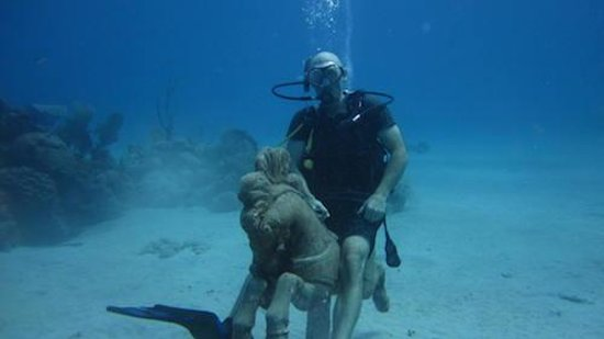 Cane Bay: Ride the sea horse