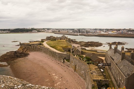 Elizabeth Castle: View from the keep