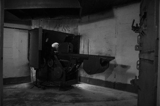Elizabeth Castle: German gun emplacement