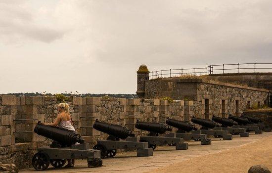Elizabeth Castle: Battery