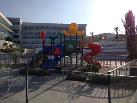 King Evelthon Beach Hotel & Resort: A small play park next to the kids pool in the main part of the hotel...