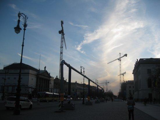 Unter den Linden: Building work