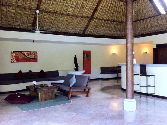 Jimbaran Bay Villas: La zona de estar