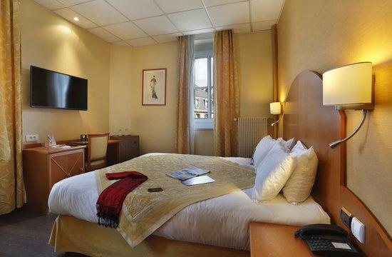 Quality Hotel du Nord Dijon Centre : Chambre lit double