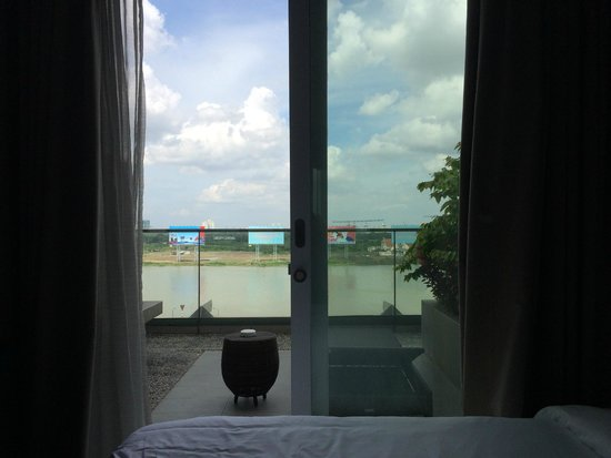 Liberty Central Saigon Riverside Hotel: View from the room