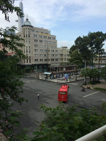 Grand Hotel Saigon : What a view!