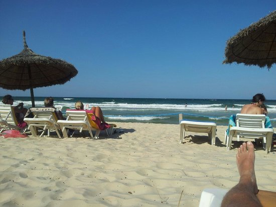 Hotel Vendome El Ksar Resort & Thalasso : On the beach