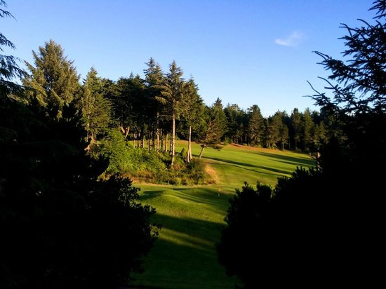 Salishan Spa and Golf Resort: View from the deck