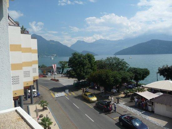 Post Hotel Weggis: vue de la chambre