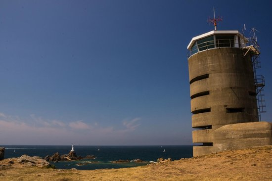 Corbiere Lighthouse (La Corbiere): German tower view
