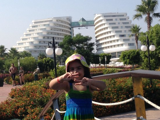 Miracle Resort Hotel: Miracle view from garden
