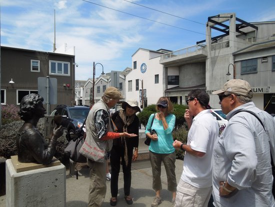 Monterey Waterfront & Cannery Row Tours: Tim mesmerizing his us