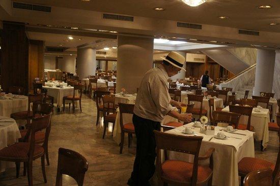 Divani Palace Acropolis: cosy restaurant.