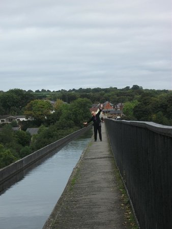 Pontcysyllte Aqueduct: You must walk over...  best thing to do.