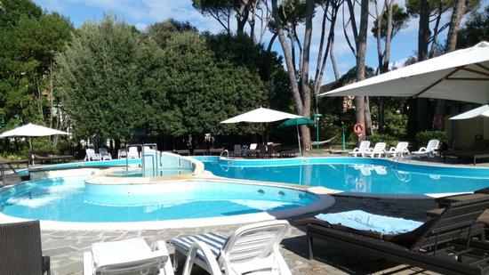 Grand Hotel & La Pace: Piscina