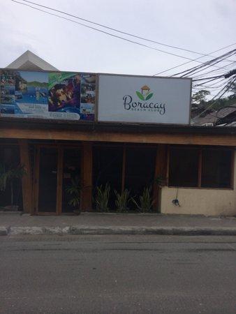 Boracay Beach Club : BBC hotel cafe
