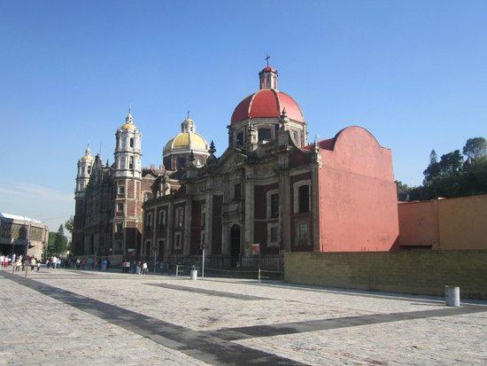 Basilica Lady of Guadalupe and Teotihuacan: Vista de la Primera iglesia de  nuestra señora de Guadalupe.