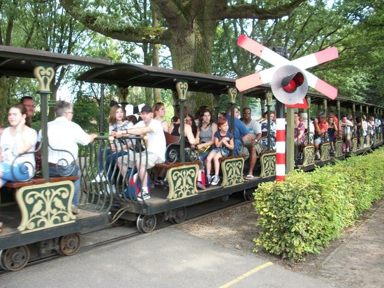"""Efteling: Enjoy this """"green ride' through the woods and around the parc."""