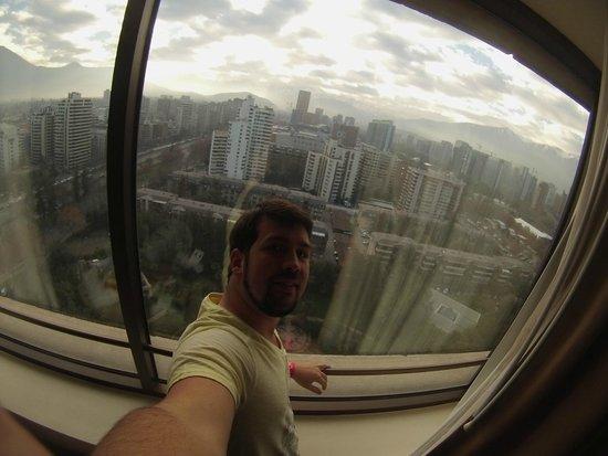 Hotel Santiago: Vista da janela do 13 andar
