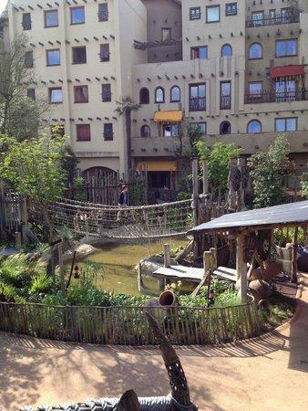 Hotel Village Matamba: Innenhof des Hotels